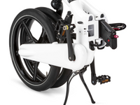 Gocycle GXi White Folded Angle