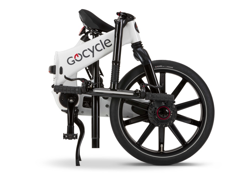 Gocycle GXi White Folded Right