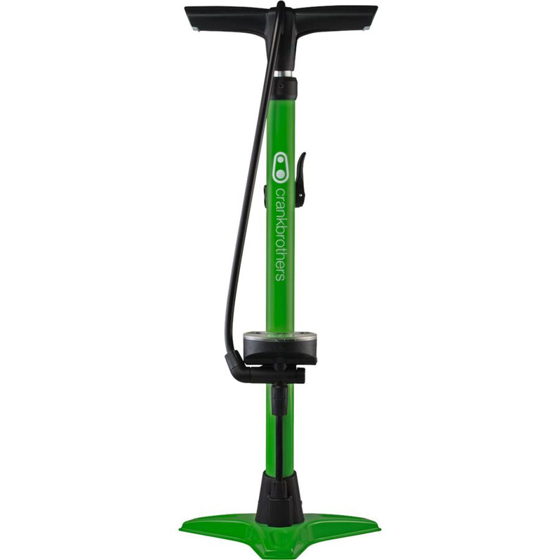 Crank-Brothers-GEM-Floor-Pump-green