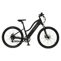 Hard Tail Mixte 8 Speed e Bike Right Black