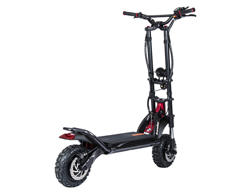 Kaabo Wolf Warrior 11+ Electric Scooter Black Angle Back