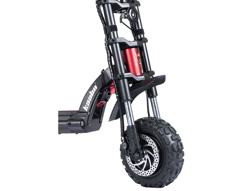 Kaabo Wolf Warrior 11+ Electric Scooter Black Off Road Tyres