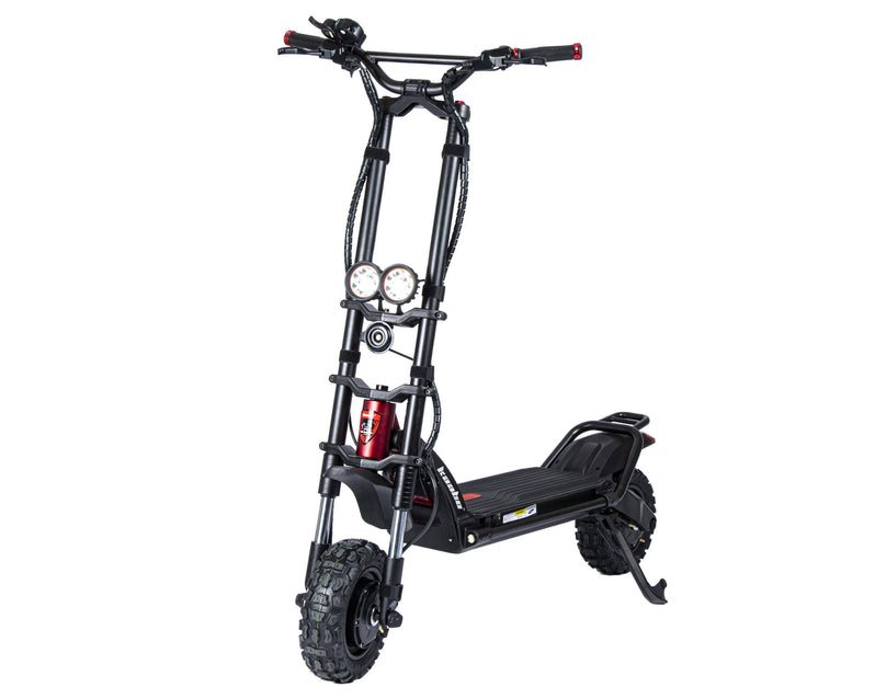 Kaabo Wolf Warrior 11+ Electric Scooter Black