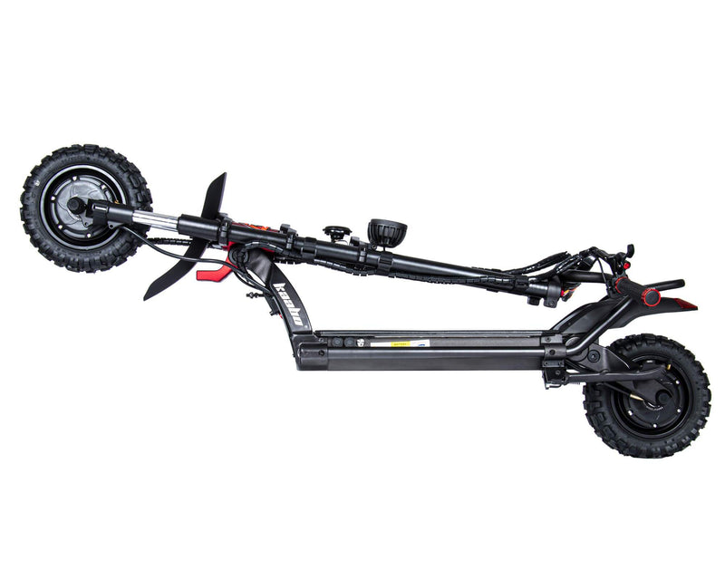 Kaabo Wolf Warrior King Electric Scooter Folded