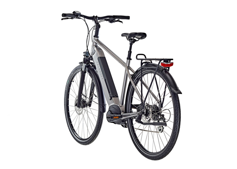 Kalkhoff Endeavour 3.B Move Diamond Frame e Bike 2021 Silver Back Angle