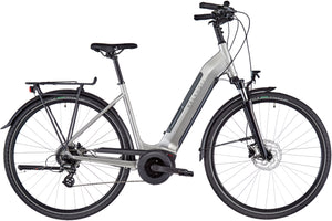 Kalkhoff Endeavour 3B Move Wave Frame ebike Smoke Silver Full