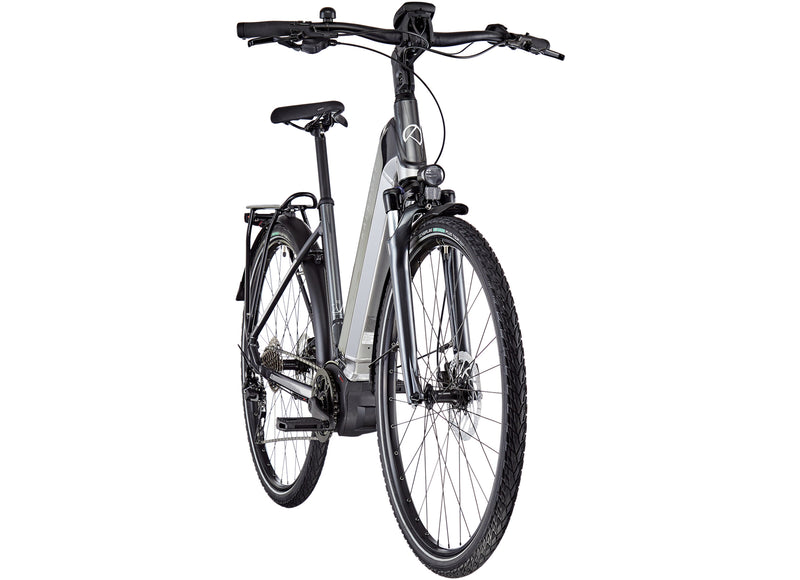 Kalkhoff Endeavour 5B Move Wave Frame ebike Smoke Silver Front