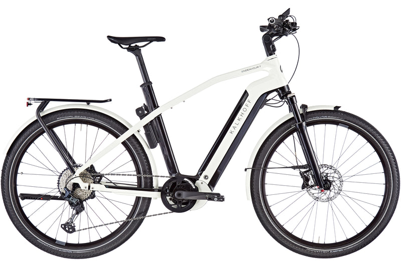 Kalkhoff Endeavour 7B Advance Diamond Frame ebike Star White Full