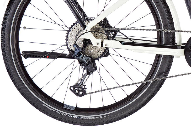 Kalkhoff Endeavour 7B Advance Diamond Frame ebike Star White Rear Wheel