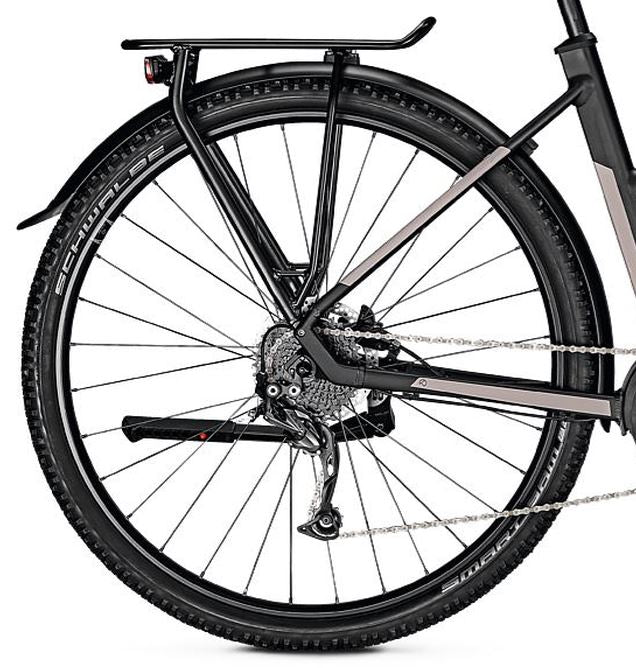 Kalkhoff Entice 5B Move Trapeze Frame ebike Black Rear Wheel