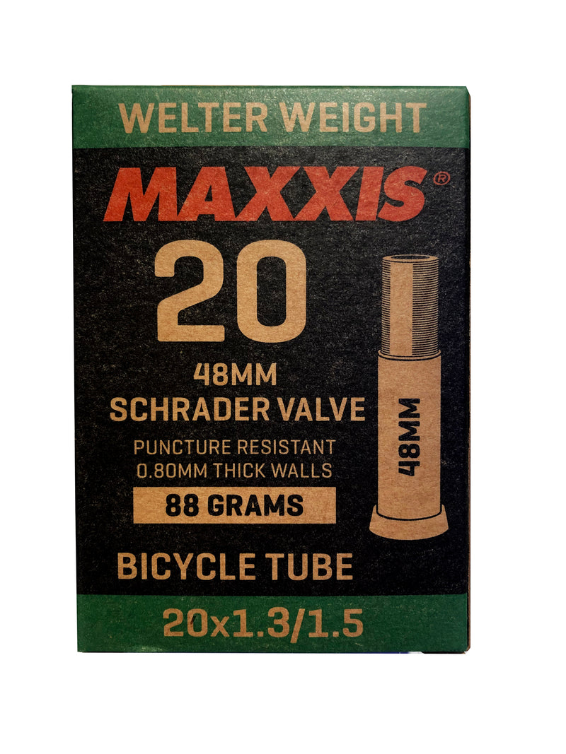 MAXXIS Tube Welter Weight 20x1.3 1.5 Schrader SV 48