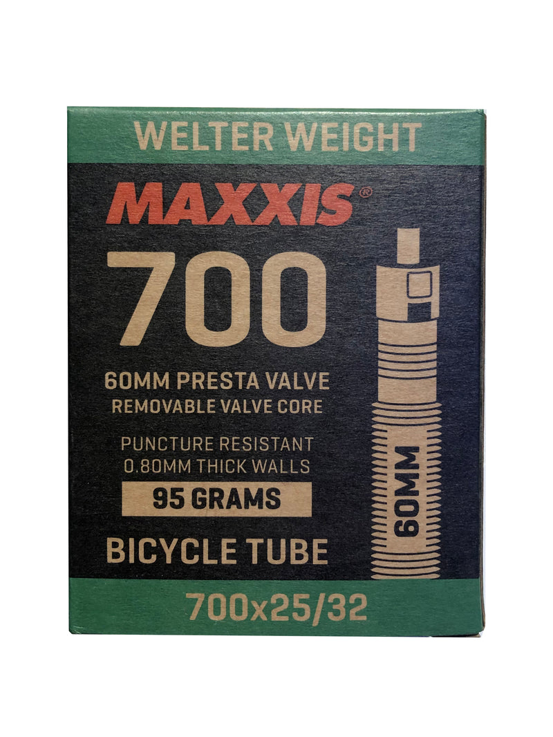 MAXXIS Tube Welter Weight 700x25 32C Presta FV RVC 60mm