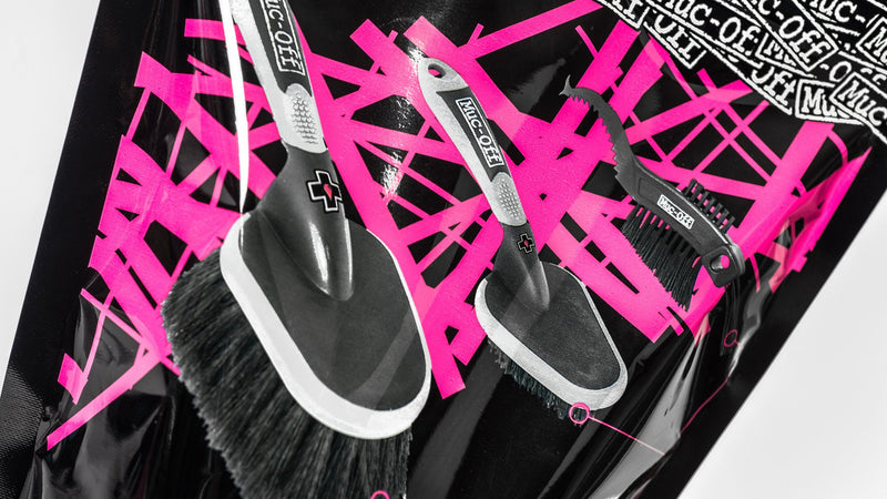 Muc-Off Detailed Cleaning Pack 3 Brush Set Back