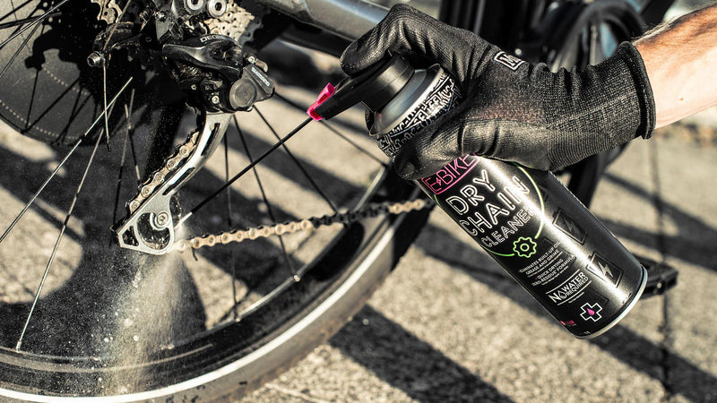 Muc-Off eBike Dry Chain Cleaner Lifestyle Spray Cogs