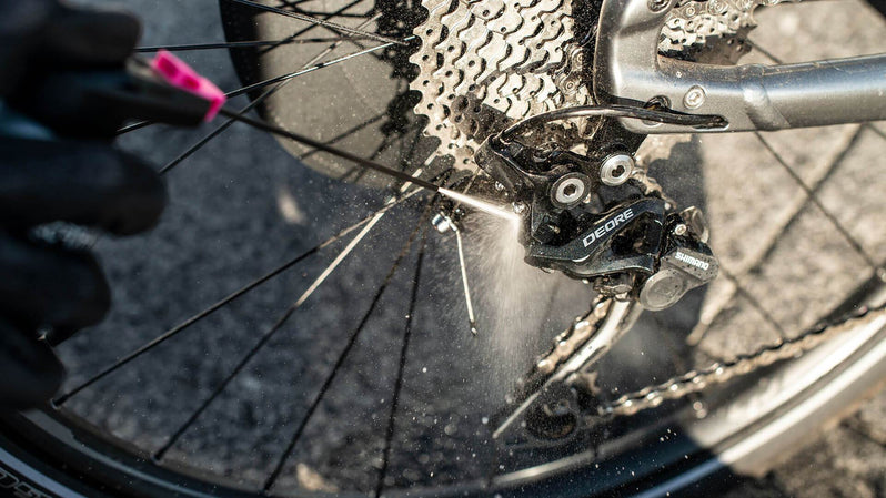 Muc-Off eBike Dry Chain Cleaner Lifestyle Spray Gears