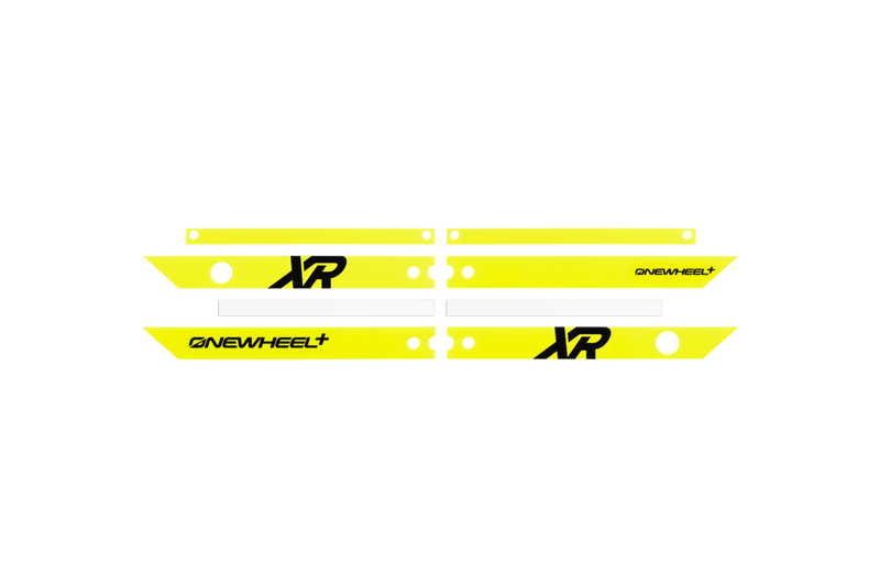 OneWheel XR Rail Guards Fluorescent Yellow