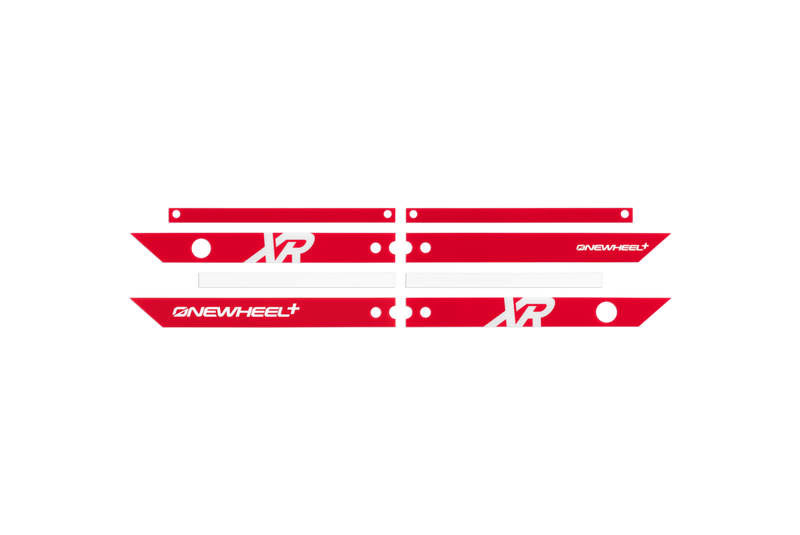OneWheel XR Rail Guards Red
