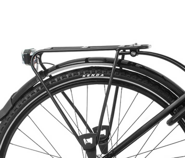 Orbea Optima Comfort 30 e Bike Black Rack