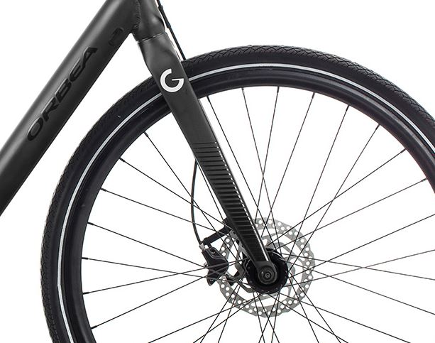Orbea Urban Gain F40 ebike Black Front Wheel