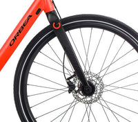 Orbea Urban Gain F40 ebike Red Black Front Wheel