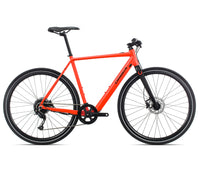 Orbea Urban Gain F40 ebike Red Black Full