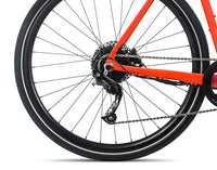 Orbea Urban Gain F40 ebike Red Black Rear Wheel
