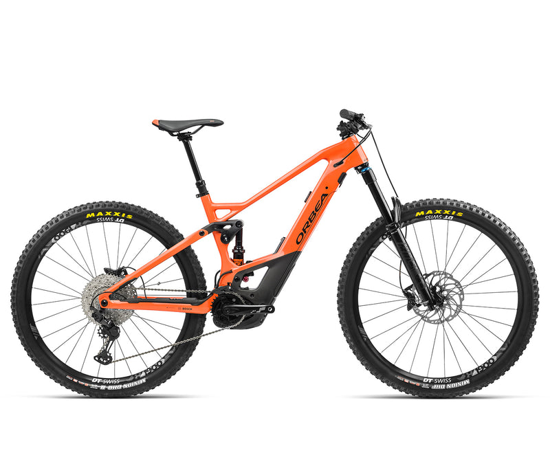Orbea WILD FS M10 e Mountain Bike 2021 Orange Black