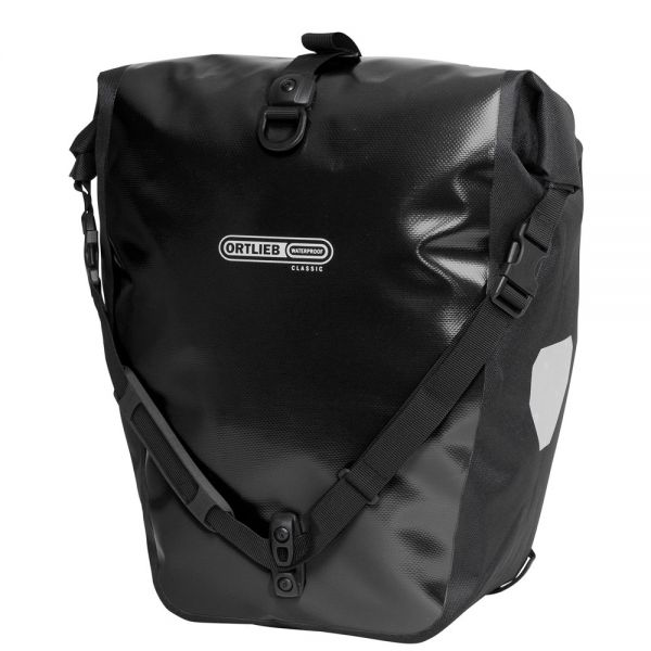 Ortlieb Back Roller Classic QL2.1 Waterproof Pannier Bag Black