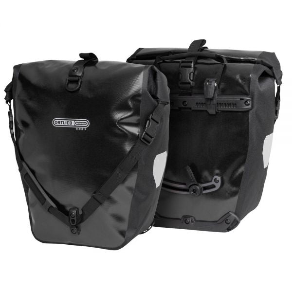 Ortlieb Back Roller Classic QL2.1 Waterproof Pannier Bag Pair Black