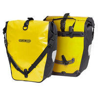 Ortlieb Back Roller Classic QL2.1 Waterproof Pannier Bag Pair Yellow Black
