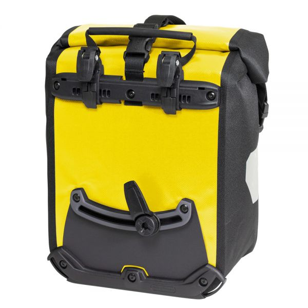 Ortlieb Sport Roller Classic QL2.1 Waterproof Pannier Bag Back Yellow Black