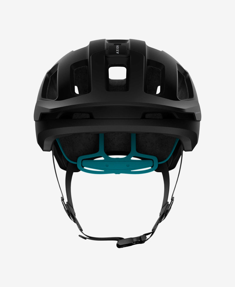 Poc Axion Spin Matte Black Blue Front