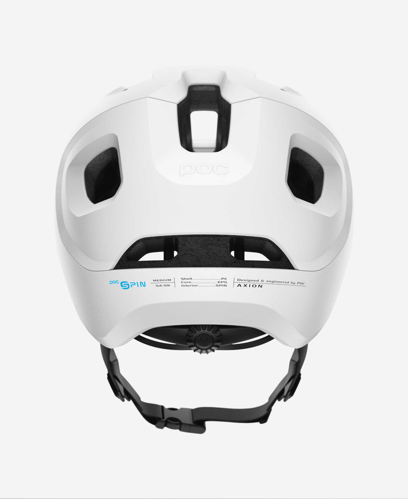 Poc Axion Spin Matte White Back
