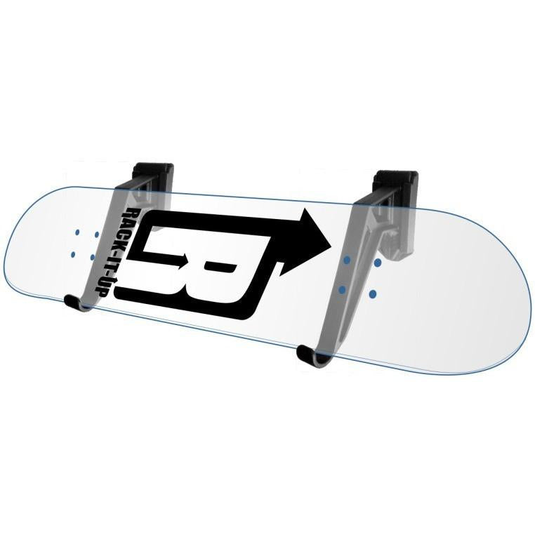 Rack-It-Up Skateboard Deck Display Rack - Horizontal