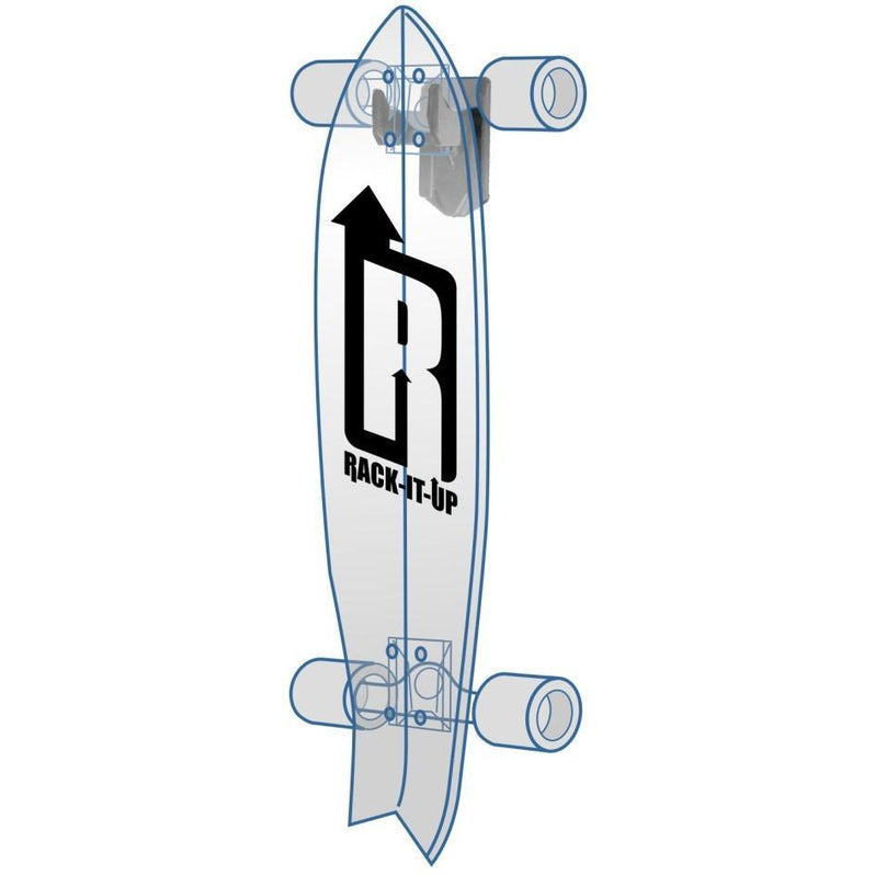 Rack-It-Up Skateboard Storage Rack - Vertical