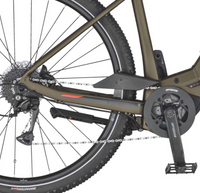 Scott Sub Cross eRIDE 20 Mens e Bike Brown Bronze Chain