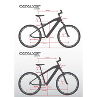 Smartmotion Catalyst ebike Geometry