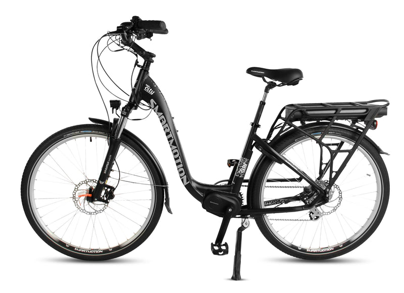 Smartmotion Mid-City ebike Black Side