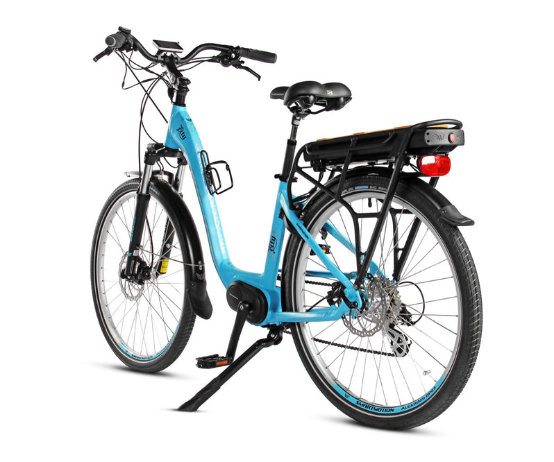 Smartmotion Mid-City ebike Blue Back