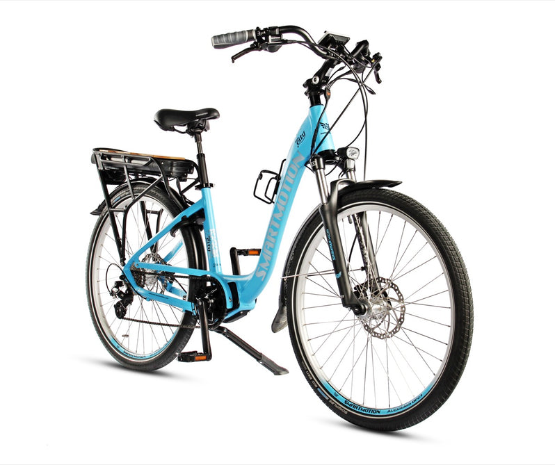 Smartmotion Mid-City ebike Blue Front