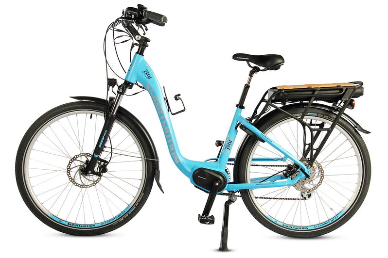 Smartmotion Mid-City ebike Blue Side