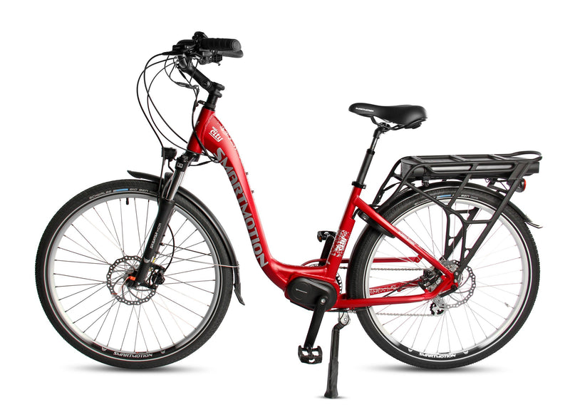 Smartmotion Mid-City ebike Red Side