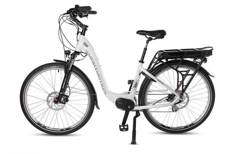 Smartmotion Mid-City ebike White Side