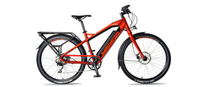 Smartmotion Pacer ebike Orange Side