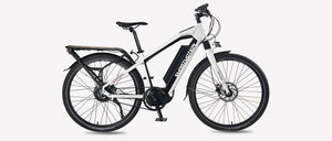 Smartmotion Pacer-GT ebike White Side
