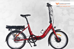 Smartmotion Vista Folding ebike Red Side