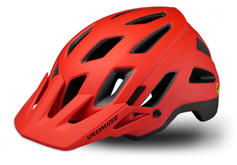 Specialized Ambush Comp with ANGi MIPS Helmet Rocket Red