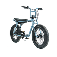 Super73 ZG Series e Bike Blue Angle