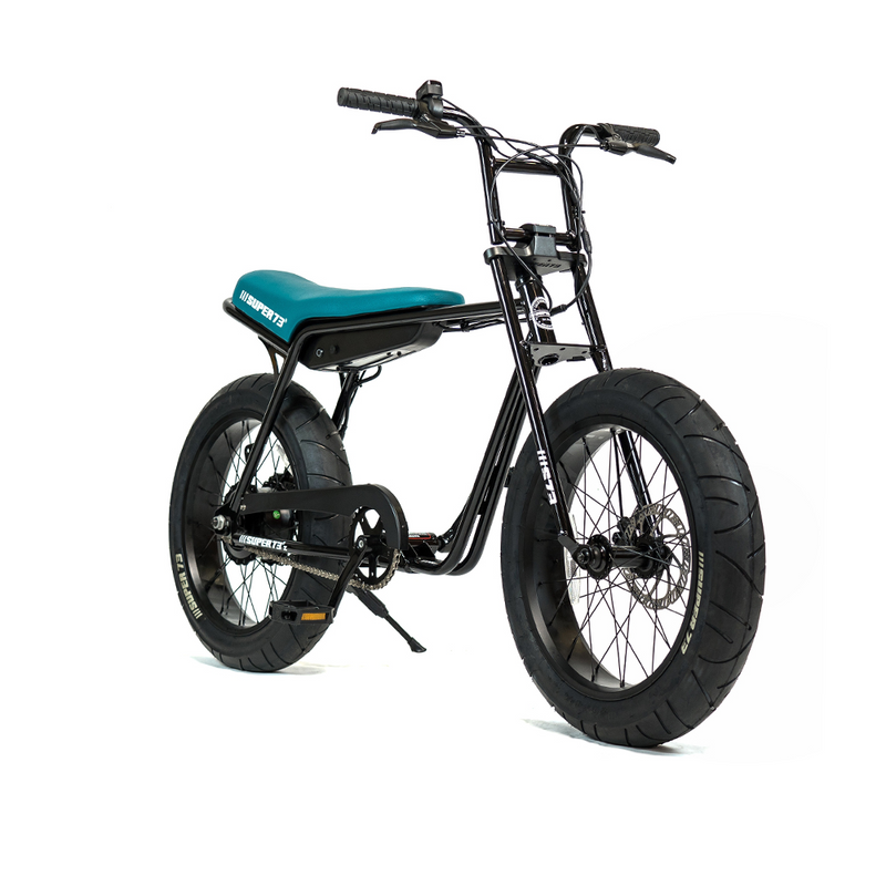 Super73 ZG Series e Bike Jet Black Angle