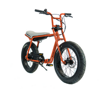 Super73 ZG Series e Bike Orange Angle